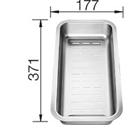 Blanco Многофункциональный коландер 177*371