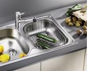 Blanco Корзина для посуды с держателями нерж. сталь 390 x 310 x 135 мм