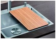 Blanco Разделочный столик 424x240 для моек подстольного мнтажа ясень/пластик