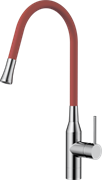 Omoikiri Yatomi-BN-R латунь/нержавеющая сталь/красный