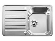 Blanco LANTOS 45 S-IF Compact нерж. сталь, с клапаном-автоматом